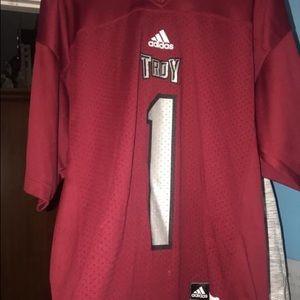Troy University football jersey
